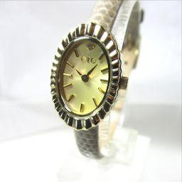 ete【エテ】 腕時計 レザー/ダイヤモンド レディース