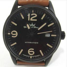 【】 ヨンガー&ブレッソ YBH8351 5BAR防水 腕時計 ステンレススチール メンズ