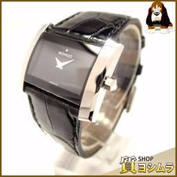 Movado【モバード】 腕時計 ステンレススチール/革 レディース