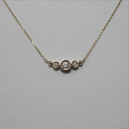 SELECT JEWELRY【セレクトジュエリー】 WITH UPON A STAR ネックレス K10イエローゴールド レディース