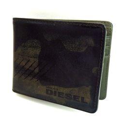 DIESEL【ディーゼル】 X02616 二つ折り財布(小銭入れなし) レザー メンズ