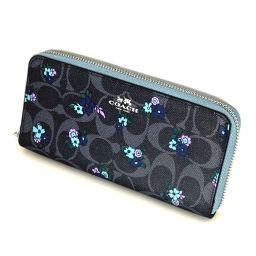 COACH【コーチ】 F59729 長財布(小銭入れあり) PVCコーティングキャンバス/レザー レディース