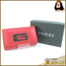 GUCCI【グッチ】 033-3731-0859 キーケース レザー ユニセックス
