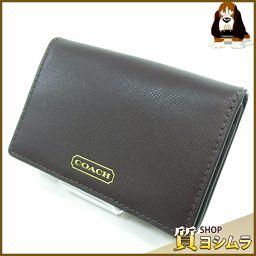 COACH【コーチ】 カードケース レザー レディース