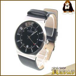 SKAGEN【スカーゲン】 233XXLSLB 腕時計 ステンレス/レザー メンズ
