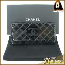 CHANEL【シャネル】 A80015 長財布(小銭入れあり)  レディース